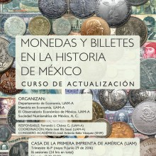 """Curso de actualización """"Monedas y Billetes en la Historia de México"""""""